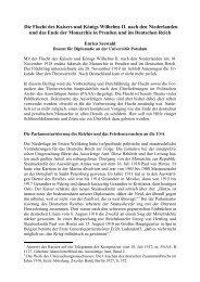 Wilhelm II. - Diplomatie global