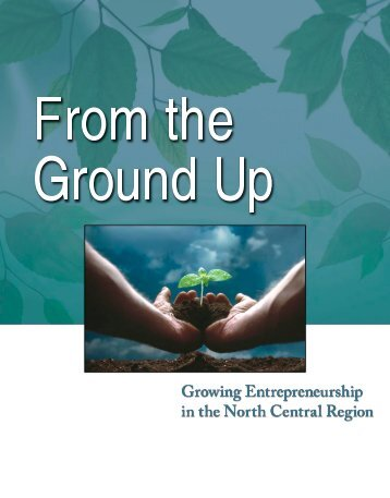 From the Ground Up: Growing Entrepreneurship in the North Central ...