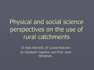 Talking about each other: physical and social science perspectives ...