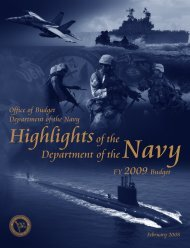 Budget Highlights Book - U.S. Navy