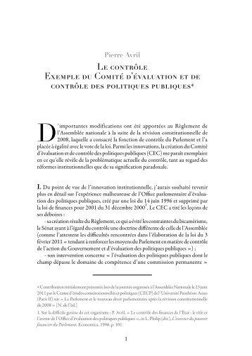 PDF herunterladen - Jus Politicum, revue de droit politique.