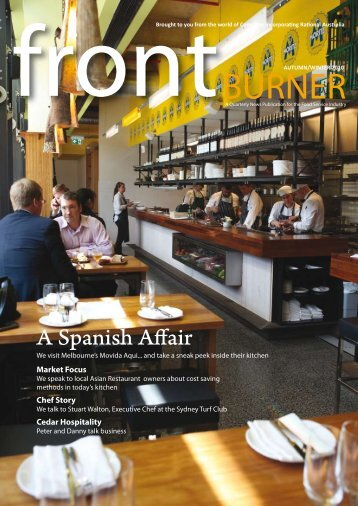 Download Front Burner Issue - Autumn/Winter 2010 - Comcater