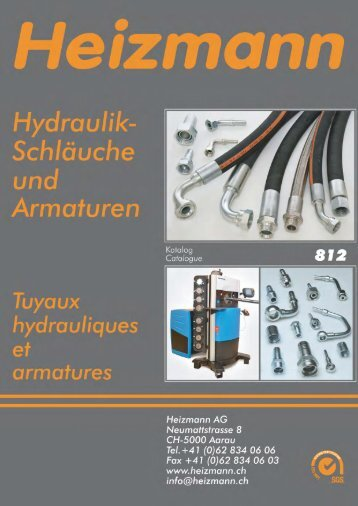 catalogue à télécharger PDF 10.80 MB - Heizmann AG