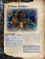 Fortune Hunters - Antimatter Games