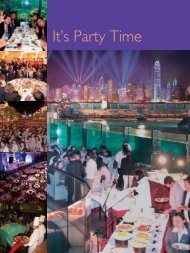 It's Party Time - Discover Hong Kong