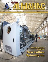 New Lathes Spinning Up - ATA Engineering