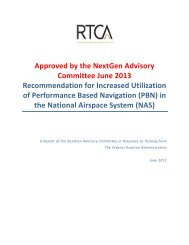 Approved by the NextGen Advisory Committee June 2013 ... - Rtca