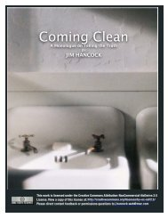 Coming Clean - Youth Specialties