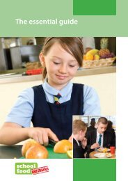 School food: the essential guide - Belfast Education & Library Board