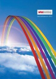 Geschäftsbericht 2012 - Wien Holding