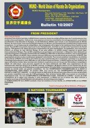 boletin 10 - completo - WUKF - World Union of Karate-Do Federations