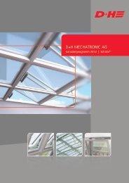Konsolenprogramm 2012 | Schüco - D+H Mechatronic