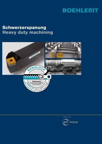 Schwerzerspanung Heavy duty machining - BOEHLERIT GmbH ...