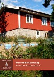 Kommunal VA-planering - Havs- och vattenmyndigheten