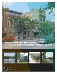 Downtown & Riverfront Redevelopment Plan - City of Jefferson