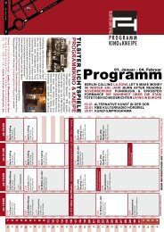 Monat 01-2009.indd - Tilsiter Lichtspiele