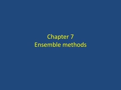 Chapter 7 - Ensemble methods.pdf