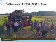 Etablering Frø i Sør 3april2013.pdf - Norsk Landbruksrådgiving Agder