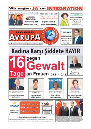 Haber Avrupa Europa Journal November 2014
