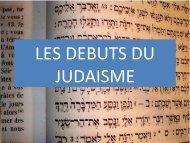 LES DEBUTS DU JUDAISME - Histoire géographie Dijon