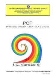 piano dell'offerta formativa as 2012-13 - dante alighieri'' - varese