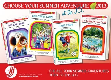 the 2013 Summer Day Camp Guide - Harry & Rose Samson Family