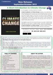 PDF - September/October 2012 - Cambridge University Press
