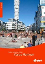 Hållbar stadsutveckling i Västra Hamnen - E-on
