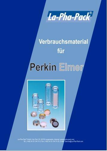 Perkin Elmer - Markus Bruckner Analysentechnik