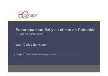 Panorama mundial y su efecto en Colombia - Camacol