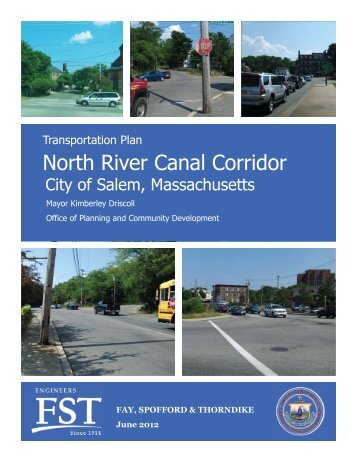 North River Canal Corridor Transportation Plan (Final) - City of Salem