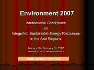 Environment 2007 Environment 2007