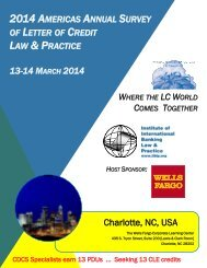 LETTER CREDIT LAW & PRACTICE