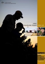 grdc stakeholder report 2011-12 final 2011-05-16 - Grains Research ...