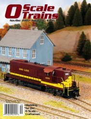 Scale - O Scale Trains Magazine Online