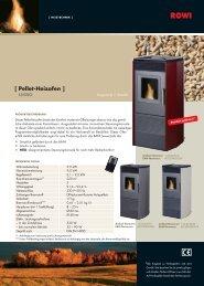[ Pellet-Heizofen ] - HBC Heimbaucenter GmbH