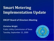 AMIT Report to the ERCOT Board - Public Utility Commission of Texas