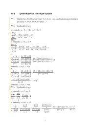 1.8.5 Zjednodušování lomených výrazů I