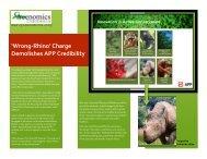 Wrong-‐Rhino - Greenomics Indonesia