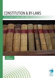 CONSTITUTION & BY-LAWS - World Water Council