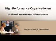 Überblick über den Erkenntnisstand zu 'high performance ...