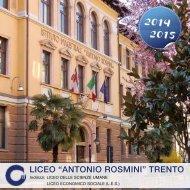 Opuscolo informativo (PDF) - A. Rosmini