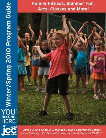 Winter/Spring 2010 Program Guide - Mandell JCC