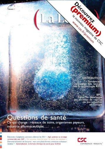 La Lettre, le magazine de CSC - Numéro 5