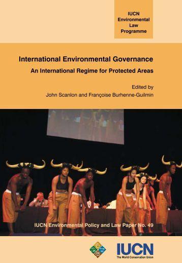 International Environmental Governance - IUCN