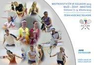 Mistrovství ČR ve squashi 2013 - Česká asociace squashe