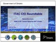 ITAC CIO Roundtable