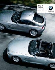 Service and Warranty Information 2008 - Irvine BMW