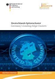 Deutschlans Spitzencluster - Der Cluster