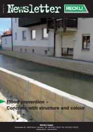 Flood prevention - RECKLI GmbH: Home